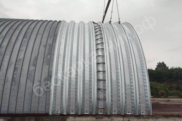 строительство бескаркасных ангаров в Череповце